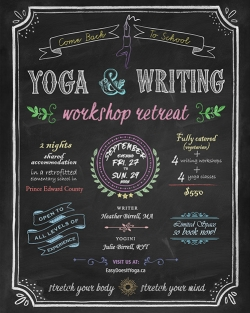 September Yoga & Writing Retreat